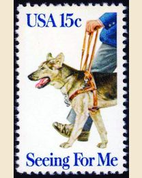 #1787 - 15¢ Guide Dog