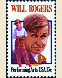 #1801 - 15¢ Will Rogers
