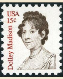 #1822 - 15¢ Dolley Madison