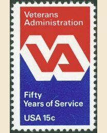 #1825 - 15¢ Veterans Administration