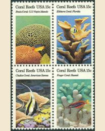 #1827S - 15¢ Coral Reefs