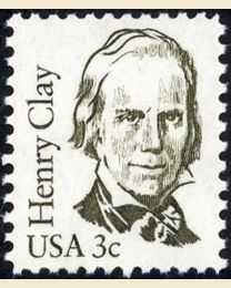 #1846 - 3¢ Henry Clay