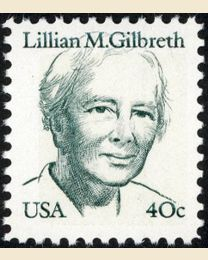 #1868 - 40¢ Lillian M. Gilbreth