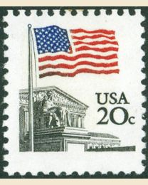 #1894 - 20¢ Flag over Court