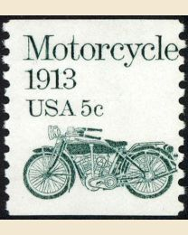 #1899 - 5¢ Motorcycle