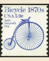 #1901 - 5.9¢ Bicycle