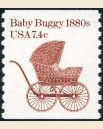 #1902 - 7.4¢ Baby Buggy