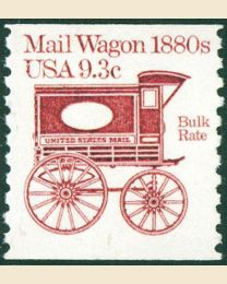 #1903 - 9.3¢ Mail Wagon