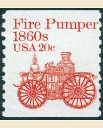 #1908 - 20¢ Fire Pumper