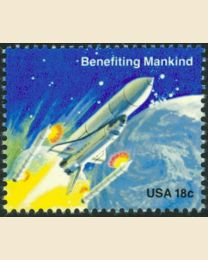 #1913 - 18¢ Benefiting Mankind