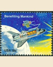 #1914 - 18¢ Benefiting Mankind