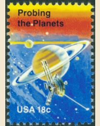 #1916 - 18¢ Probing the Planets