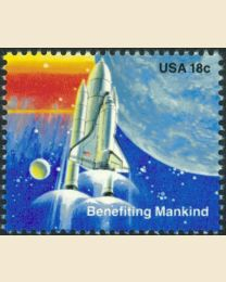 #1917 - 18¢ Benefiting Mankind