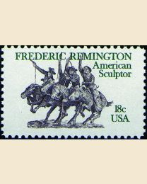 #1934 - 18¢ Frederic Remington