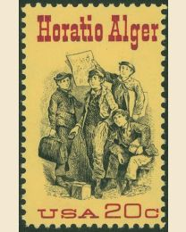 #2010 - 20¢ Horatio Alger