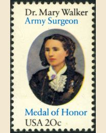 #2013 - 20¢ Dr. Mary Walker