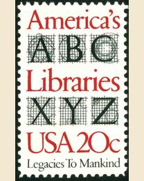 #2015 - 20¢ America's Libraries