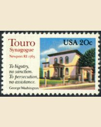 #2017 - 20¢ Touro Synagogue
