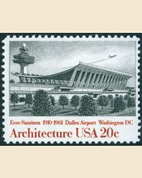 #2022 - 20¢ Dulles Airport