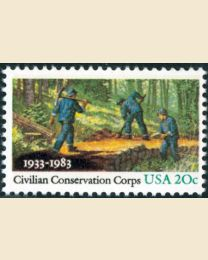 #2037 - 20¢ Civilian Conservation Corps