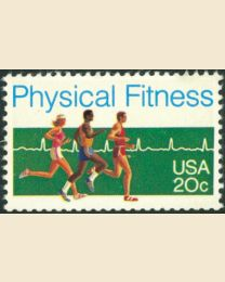 #2043 - 20¢ Physical Fitness