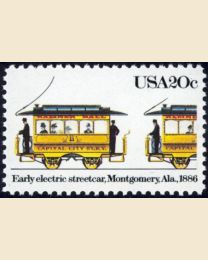 #2060 - 20¢ Early Electric