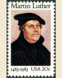 #2065 - 20¢ Martin Luther