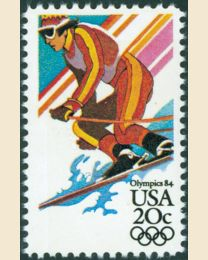 #2068 - 20¢ Alpine Skiing