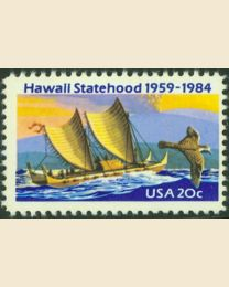 #2080 - 20¢ Hawaii Statehood
