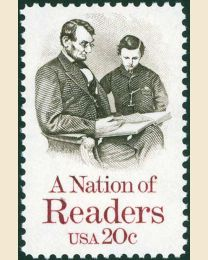 #2106 - 20¢ Nation of Readers