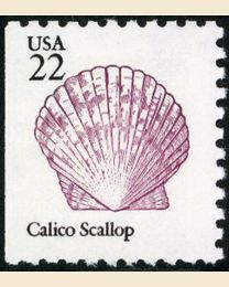 #2120 - 22¢ Calico Scallop