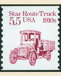 #2125 -  5.5¢ Star Route Truck