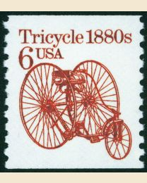 #2126 -  6¢ Tricycle