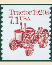 #2127 -  7.1¢ Tractor