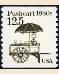#2133 - 12.5¢ Pushcart