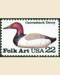 #2140 - 22¢ Canvasback