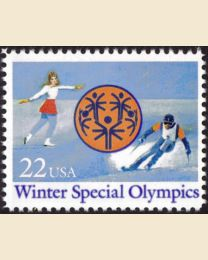 #2142 - 22¢ Winter Special Olympics