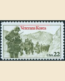 #2152 - 22¢ Korean War Veterans