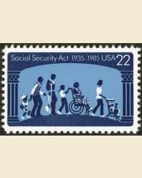 #2153 - 22¢ Social Security