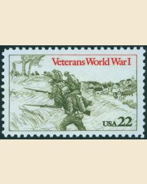#2154 - 22¢ World War I Veterans