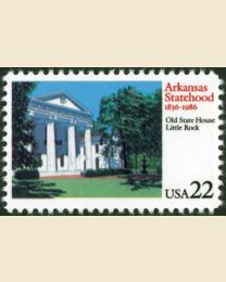 #2167 - 22¢ Arkansas Statehood