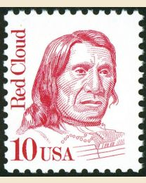 #2175 - 10¢ Red Cloud