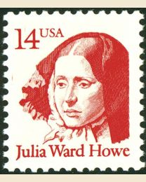#2176 - 14¢ Julia Ward Howe