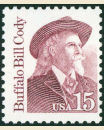 #2177 - 15¢ Buffalo Bill Cody
