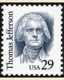 #2185 - 29¢ Thomas Jefferson