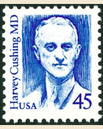 #2188 - 45¢ Harvey Cushing