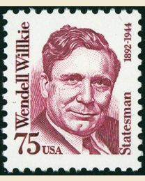 #2192 - 75¢ Wendell Willkie