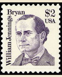 #2195 - $2 William J. Bryan