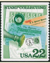 #2198 - 22¢ Cover & Handstamp