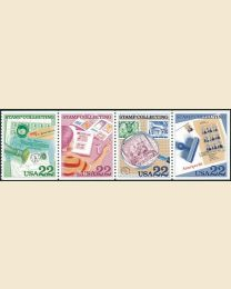 #2198S - 22¢ Stamp Collecting